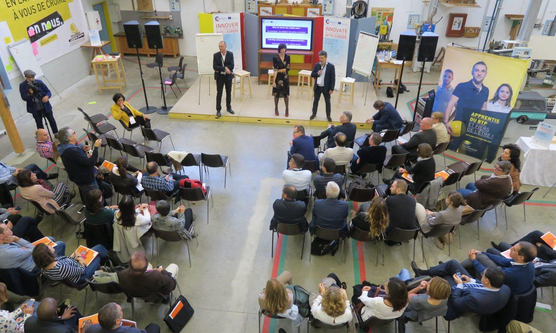 ConstructyVet : le CCCA-BTP et 5 CFA de la région Nouvelle-Aquitaine se mobilisent pour l'innovation pédagogique européenne