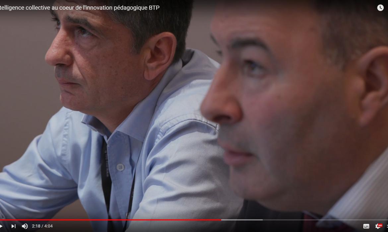 Vidéo sur l'intelligence collective au coeur de l'innovation pédagogique du BTP