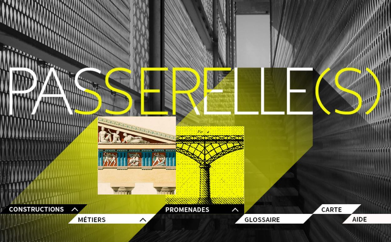 Illustration Passerelle(s) BNF