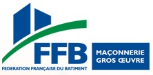 Logo FFB Maçonnerie gros oeuvre