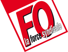 Logo FO la force syndicale