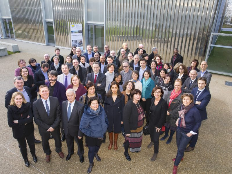 Convention Transform'BTP 2017/2020 au CFA de Brétigny-sur-orge, le 19 janvier 2018.