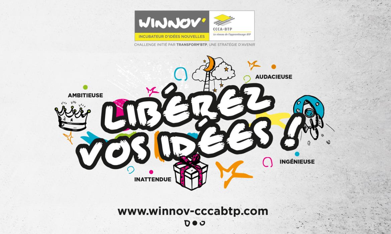 Affiche Winnov' Libérez vos idées