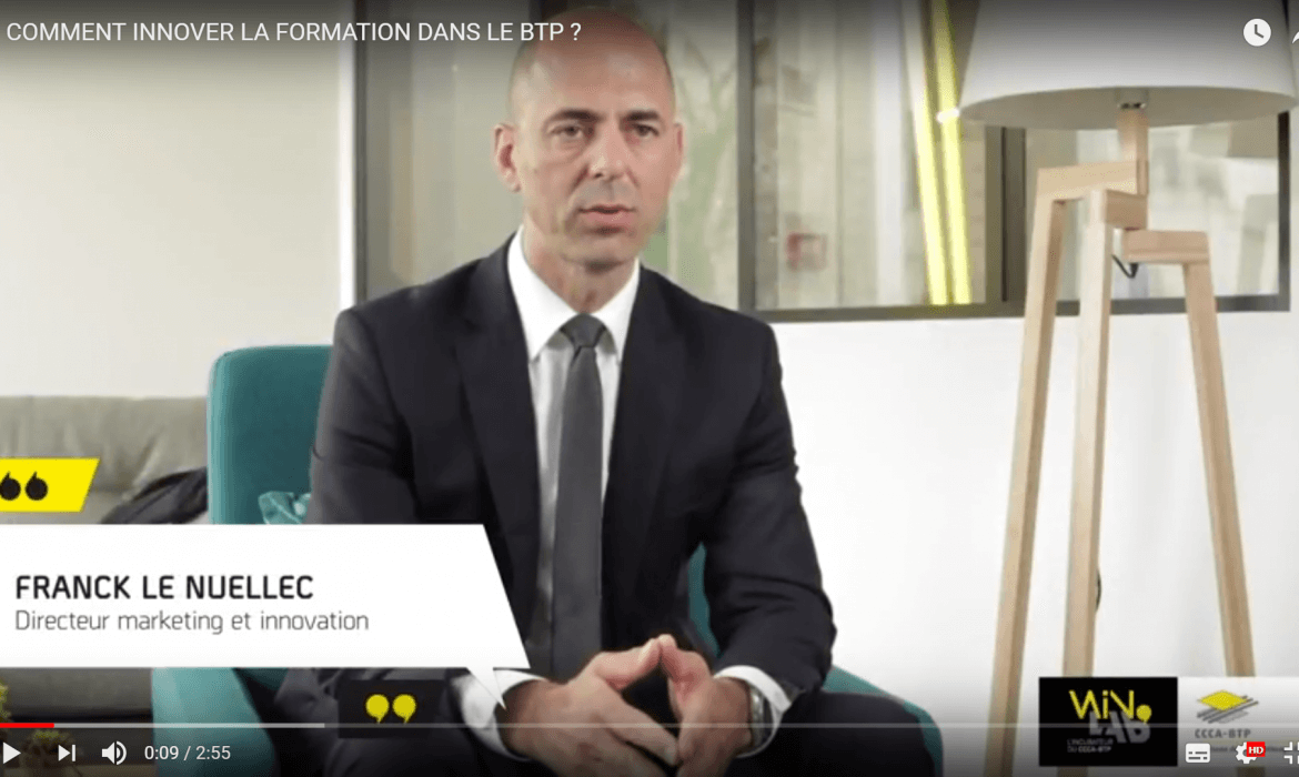 [VIDEO] WinLab' : Comment innover la formation dans le BTP ?