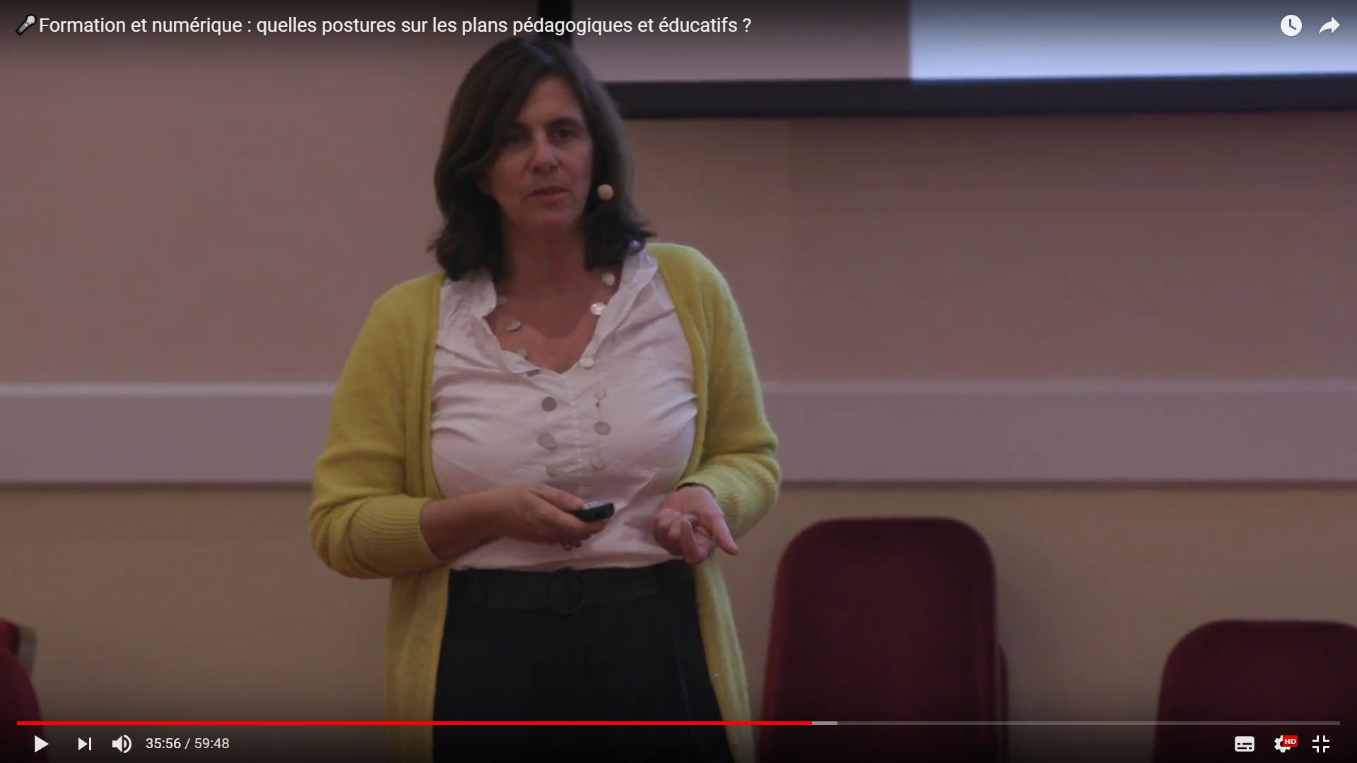 Vidéo sur les postures sur les plans pédagogiques et éducatifs