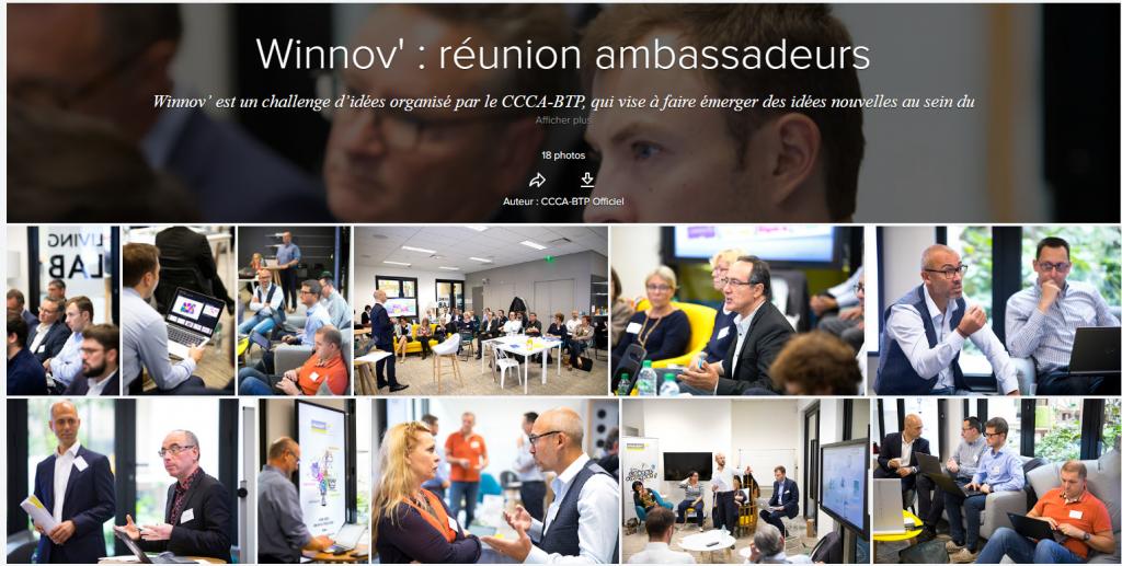 Photos réunion des ambassadeurs de Winnov'