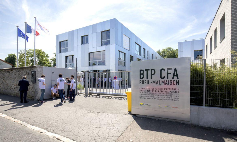 Inauguration du nouveau BTP CFA Rueil-Malmaison : un triple challenge et un pari réussi