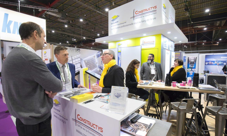Salon «Journées de la Construction» à Brest : le CCCA-BTP et Constructys font stand commun
