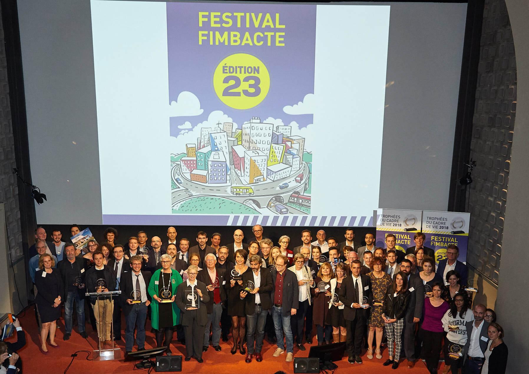Palmarès 2018 LAUREATS Festival Fimbacte 2018