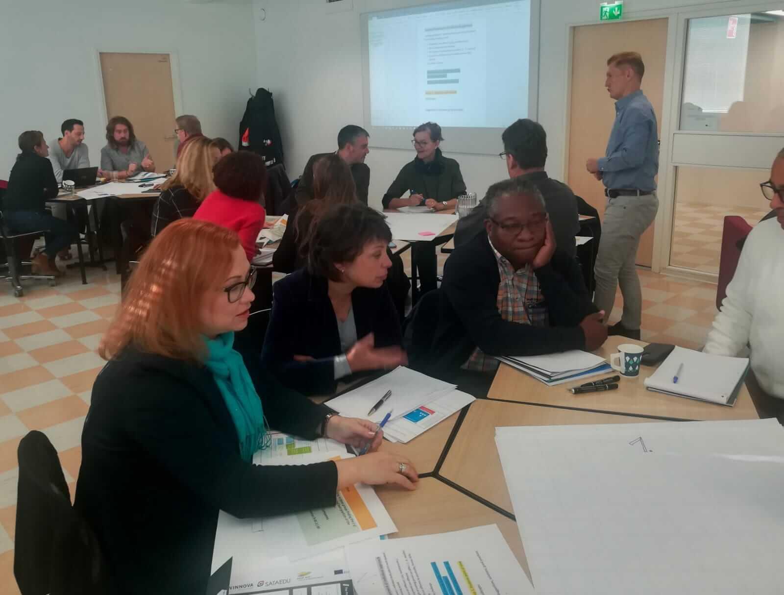 Le CCCA BTP anime un séminaire avec des partenaires finlandais