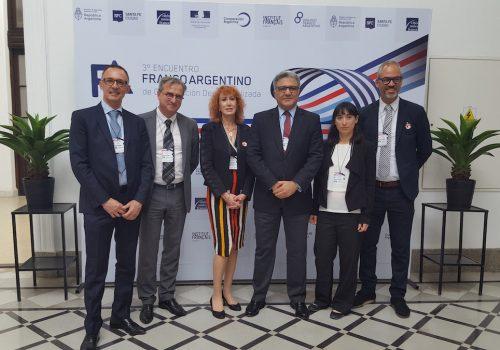 BTP CFA Vienne exporte en Argentineson savoir-faire reconnu