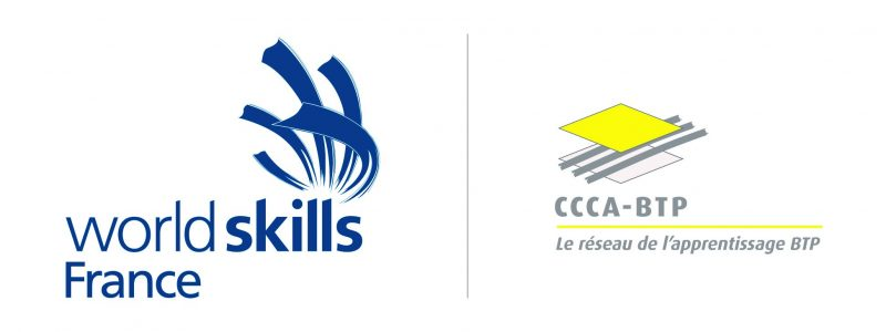 Logo WorldSkills France et CCCA BTP