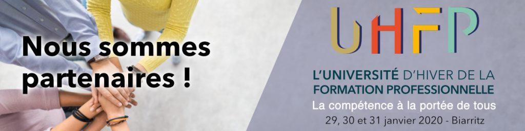 bannière partenaires UHFP