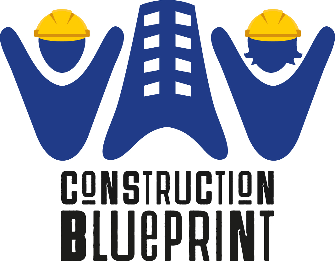 Logo Construction Blueprint
