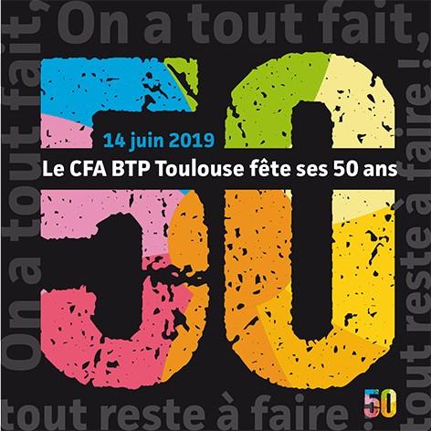 Flyer 50 ans CFA Haute-Garonne