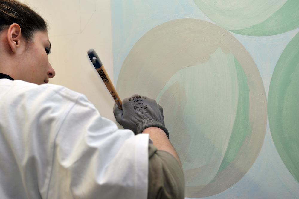 peintre en exercice