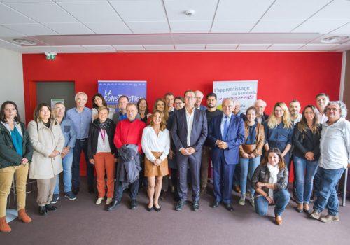 BTP CFA Loire-Atlantique, acteur majeur de la mobilité européenne