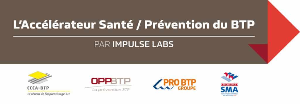 Logo accélérateur prévention btp