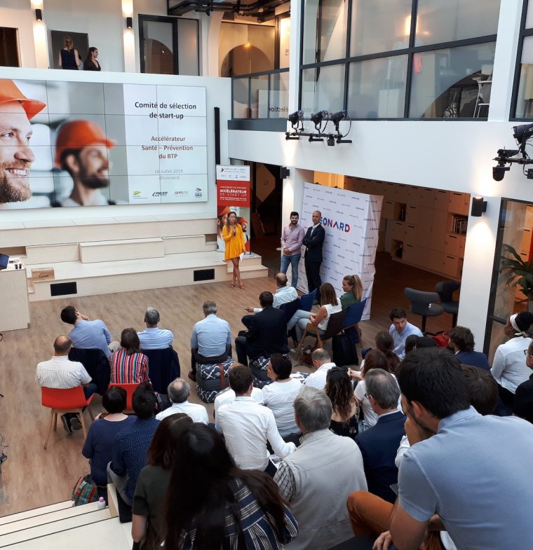 L'accélérateur Santé-Prévention dans le BTP accueille 4 nouvelles start-up!
