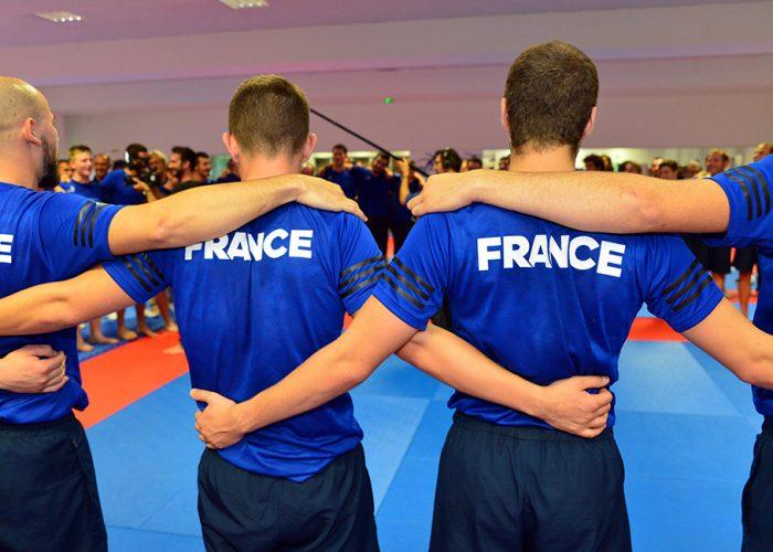 Trois jeunes issus des CFA du BTP titulaires de l'Équipe de France des Métiers 2019