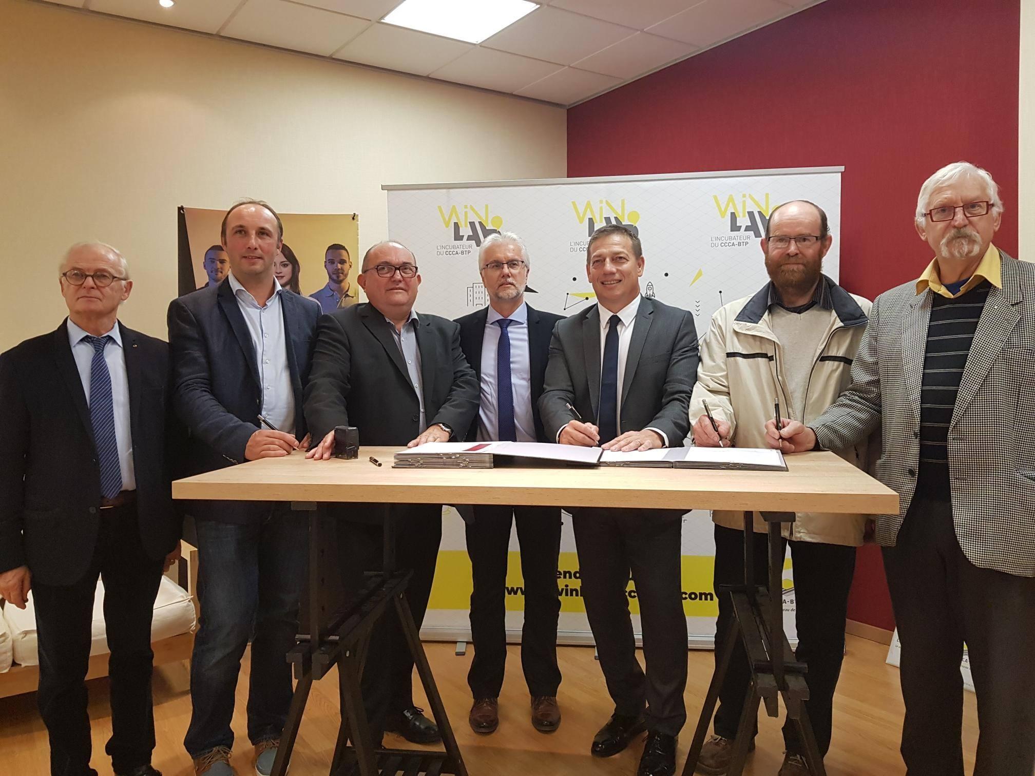 compagnons tour de France partenariat CCCA BTP