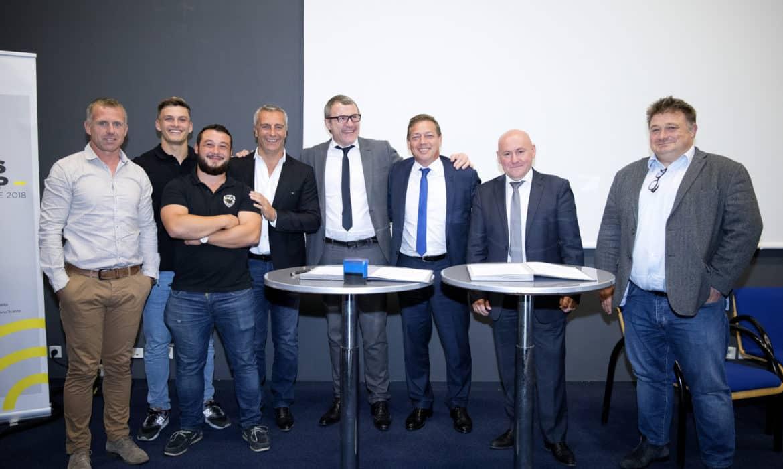 Photo partenariats nationaux avec le FFRubgy et l'ANDSA
