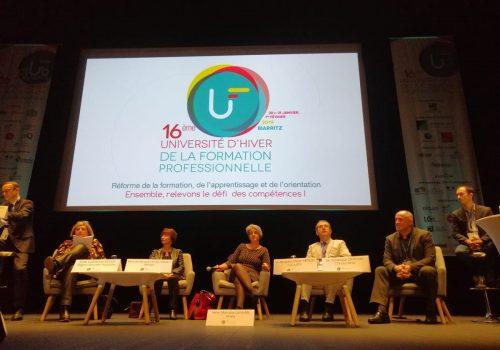 Le CCCA-BTP participe à la conférence «Les nouveaux enjeux de l'alternance» à l'UHFP 2019
