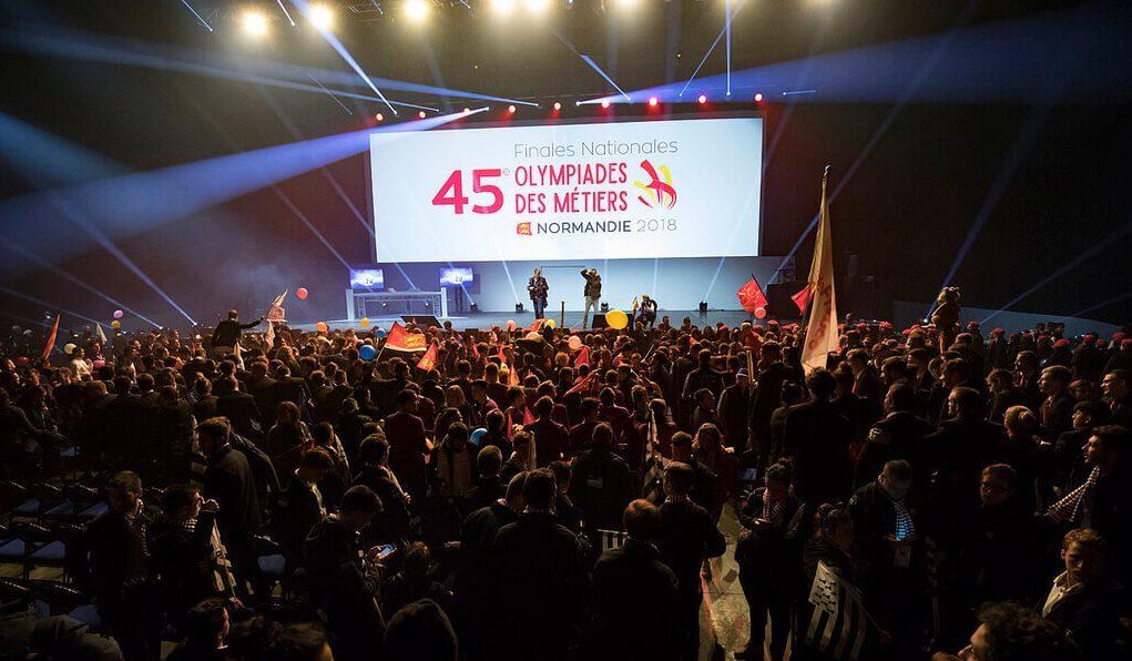 Ouverture des Olympiades des Métiers 2018