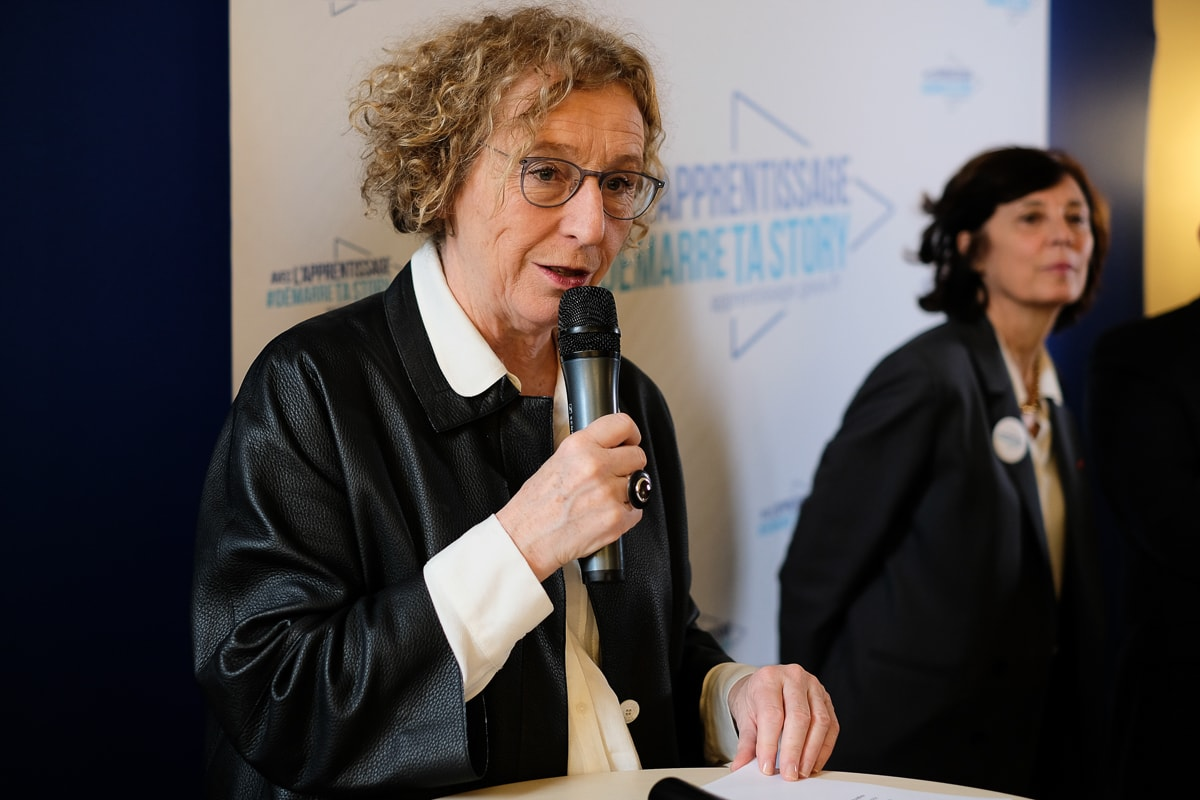 Muriel Pénicaud pour la campagne Démarretastory