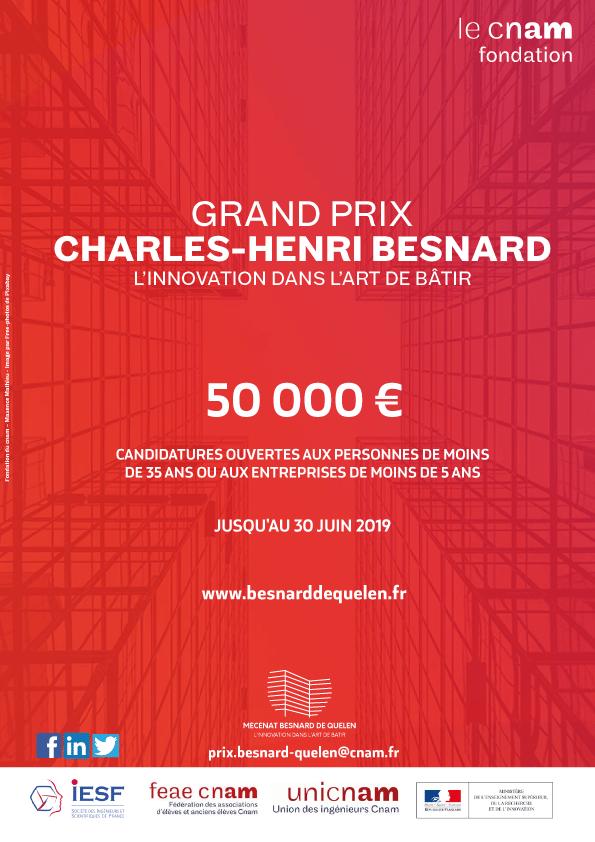 Affiche Grand Prix Charles-Henri Besnard