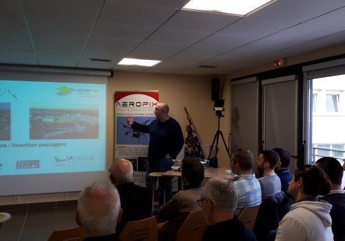Retour sur le  WinLab' Café à BTP CFA Côte d'Or (Dijon) : « Le drone et l'imagerie : quels services et solutions pour le bâtiment ? »