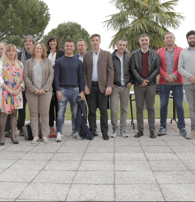Visite d'entrepreneurs italiens du BTP en France