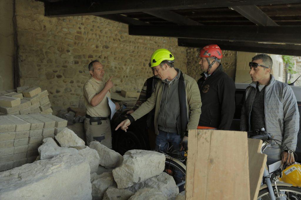 Visite de chantier BTP