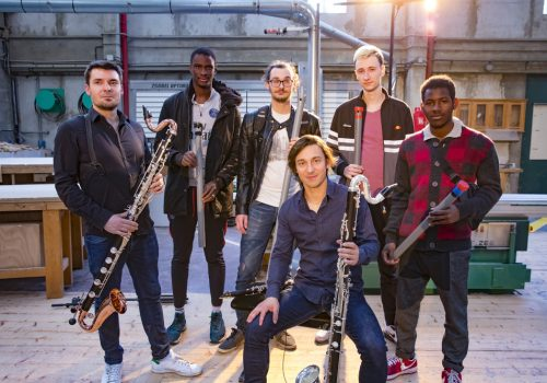 Concert de clarinette électro dans le style de Daft Punk à BTP CFA Noisy-le-Grand