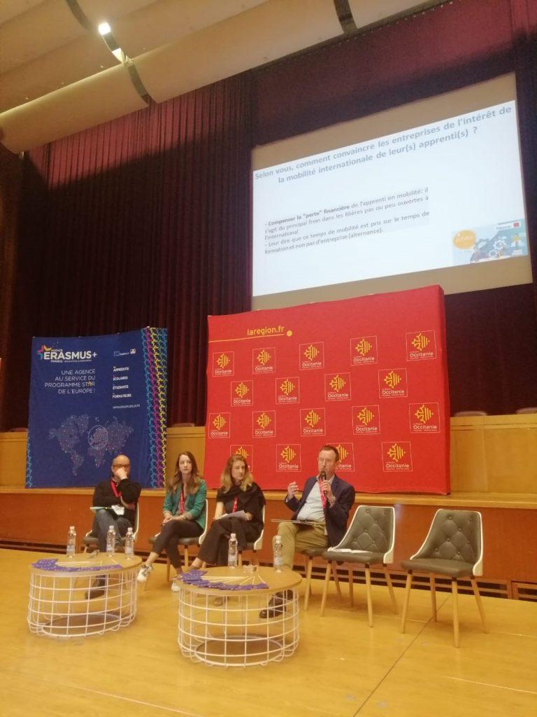 Intervenants autour des 3e édition des Assises Territoriales de la mobilité des apprentis 2019