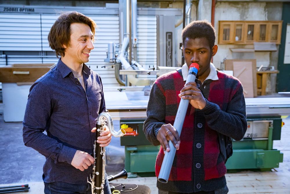 clarinette en PVC