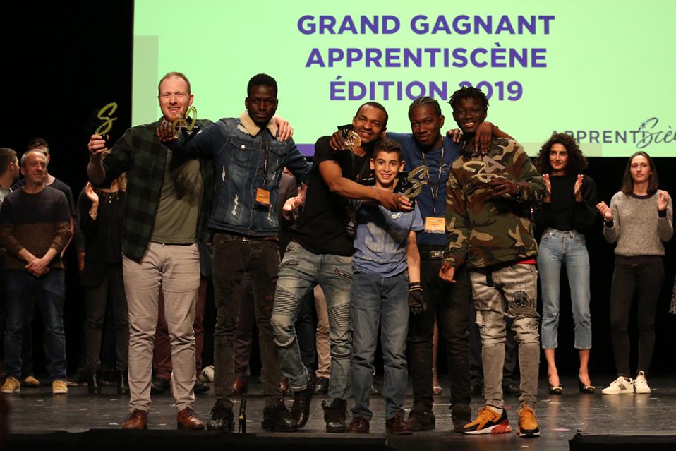 1er Prix ApprentiScène :BTP CFA Saint-Denis