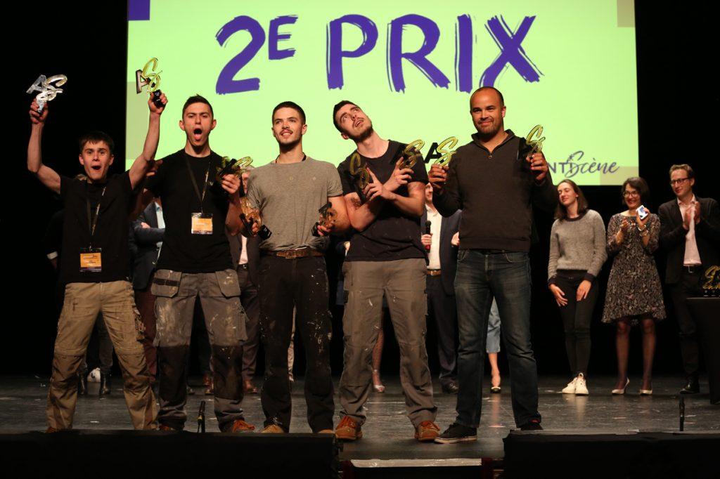 ApprentiScène: 2e Prix et Prix du public :Bâtiment CFA Ille-et-Vilaine