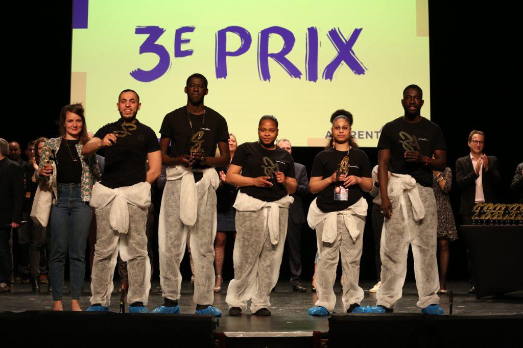 ApprentiScène 2019: 3e Prix :CFA Propreté INHNI