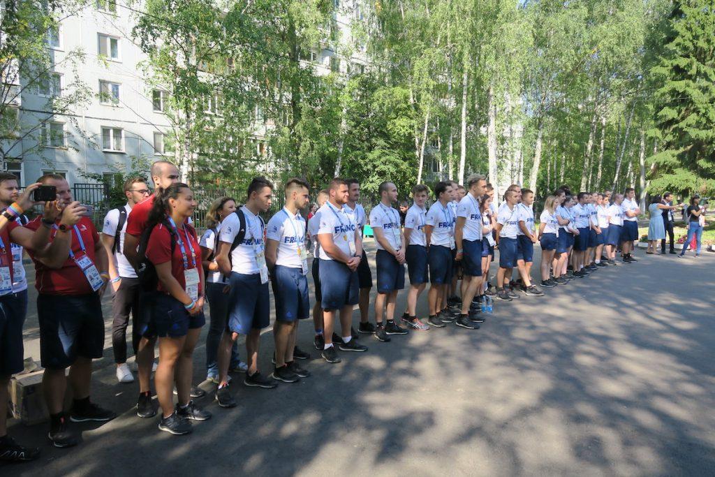 Équipe de France des Métiers aux WorldSkills Kazan 2019