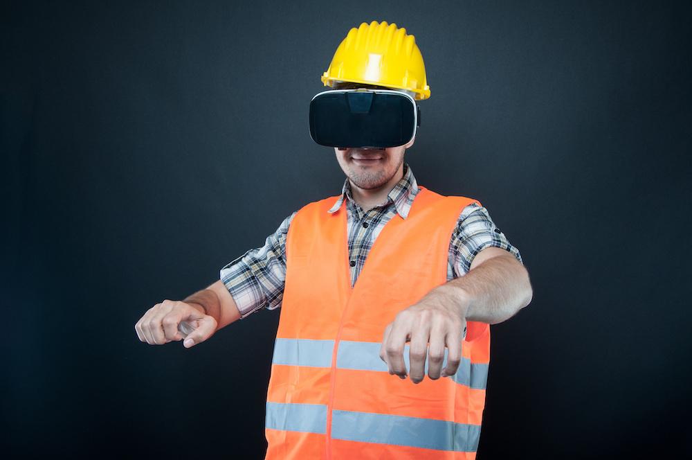 Utilisation de la VR par un acteur de la construction