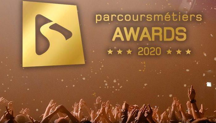 PARCOURSMÉTIERS AWARDS 2020 : Le 1er festival des métiers et des formations 100 % en ligne